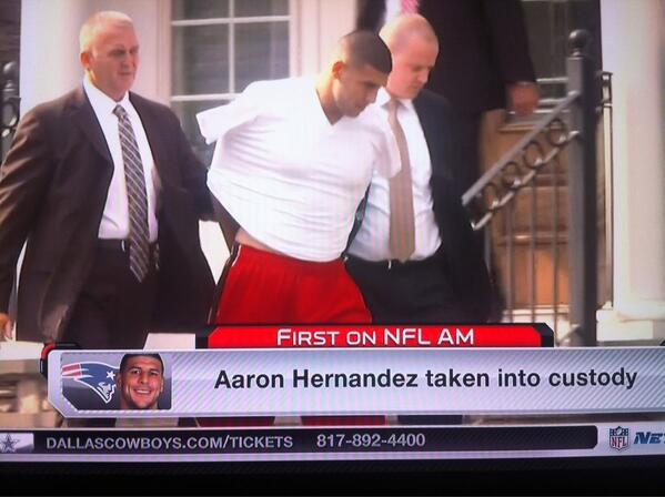 Aaron Hernandez Found Guilty Of First-Degree Murder Of Odin Lloyd~ Sentenced To Life In Prison Without The Possibility Of Parole  BNr_RwmCIAI72w6