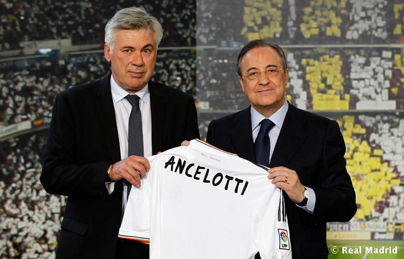 Карло Анчелотти: счастлив возглавить самый престижный клуб мира (фото)