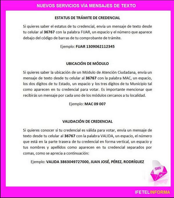 Ine على تويتر Ahora Ifetel Te Informa La Ubicación Del