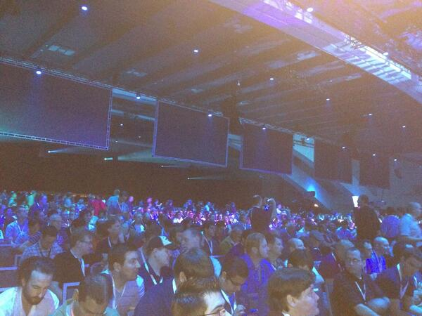 Glad I woke up early. This place is huge.  #bldwin pic.twitter.com/V4OM3NSwZa