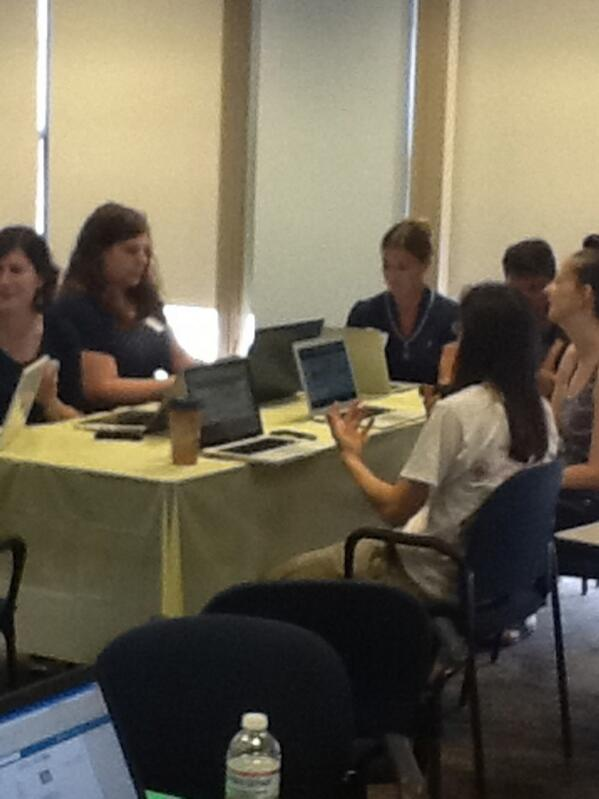 #techri Yellow Table= #learnist during session #1 Thanks for expertise @runningdmc pic.twitter.com/KQ52FzBPzm