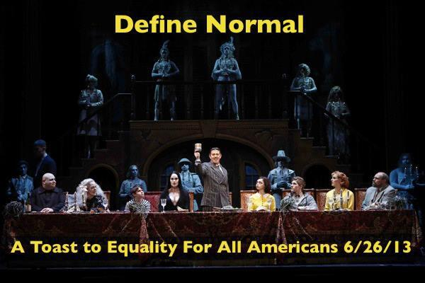 """Define """"Normal"""" #equality http://t.co/I91Be9Kife"""
