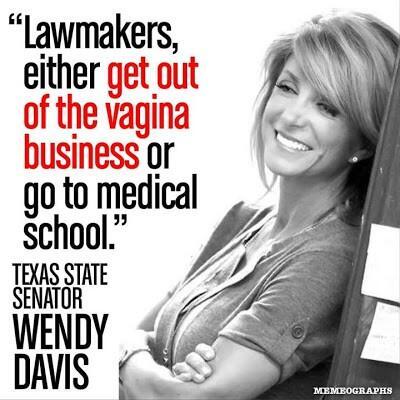 RT @VioletVaughn: Wendy Davis Quote http://pic.twitter.com/x6k4PjQJJN