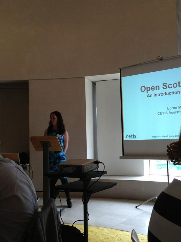 Getting started at #openscot. Shout out to @joecar for helping plan the event pic.twitter.com/EarWzFSWtc