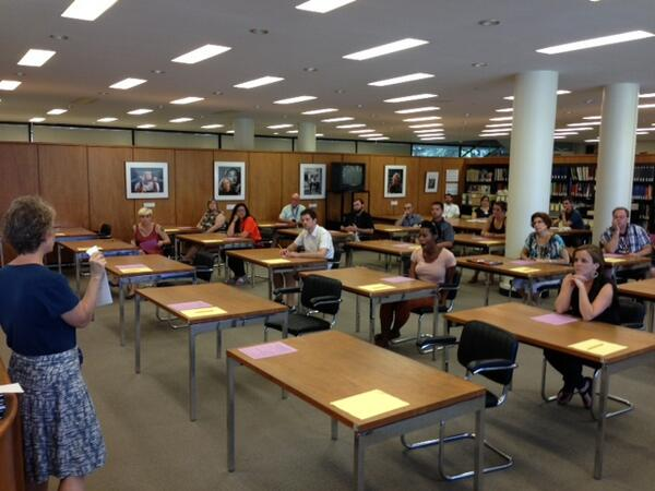 We're glad to be working with #GLIUT2013 teachers in our reading room today! pic.twitter.com/o6Ovf22QAb