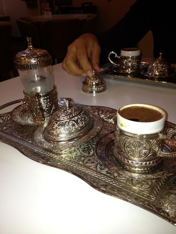turks koffieservies