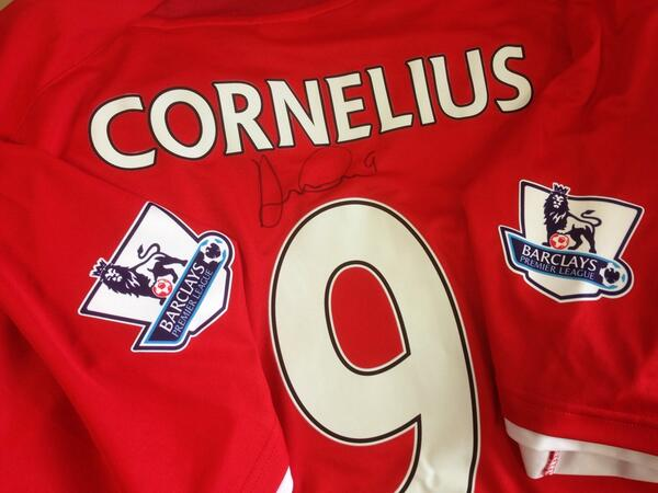RT this & follow to win Andreas Cornelius' first signed @CardiffCityFC shirt! #CardiffCity