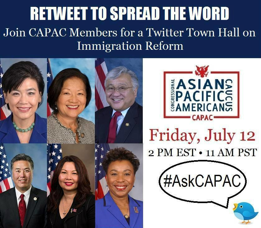 CAPAC Twitter Town Hall