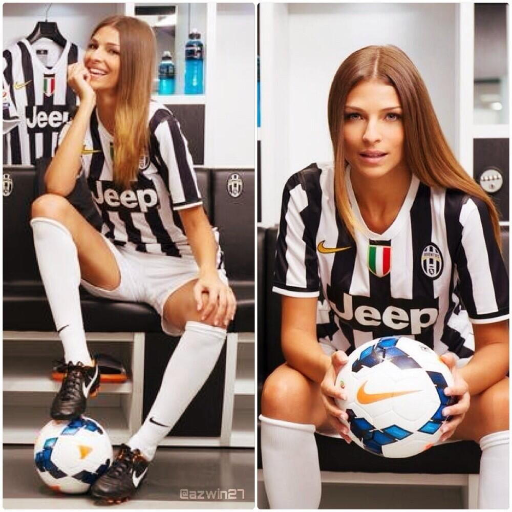 In Pictures: Juventus hire 2004 Miss Italia, Cristina Chiabotto, to present their new channel JTV