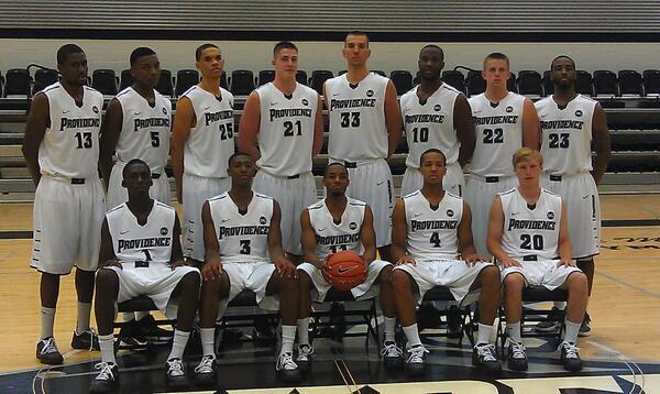 2-13 Providence Friars mens basketball team