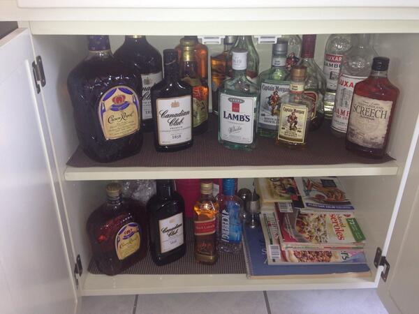Katie Walsh on Twitter  Gotta love a well stocked liquor cabinet!! Thanks dad! #PEILiving //t.co/CXoDrb8k0H  & Katie Walsh on Twitter: