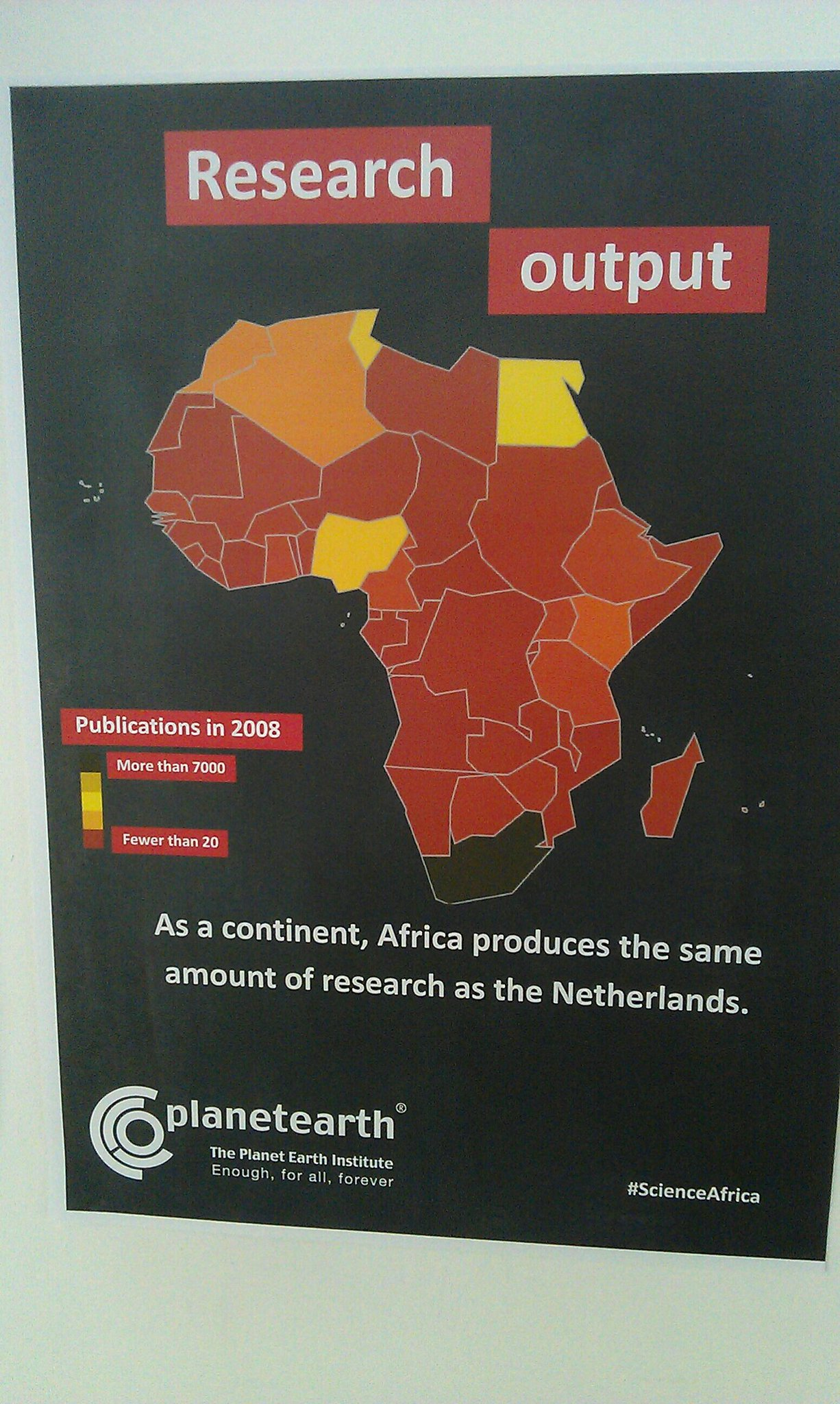 Africa's research output