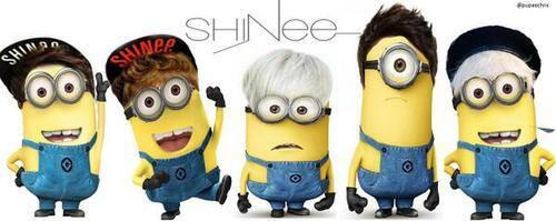 SHINee Minions! >< So cuuuute :3 cr: owner http://t.co/4cuW9kFlmp
