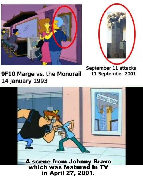 """Shower Thoughts on Twitter: """"Johnny Bravo foreshadows 9/11, picture of ..."""