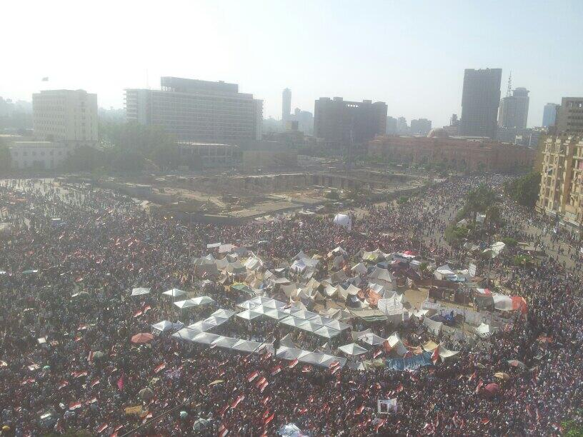 Tahrir square June 30 2013 protesters