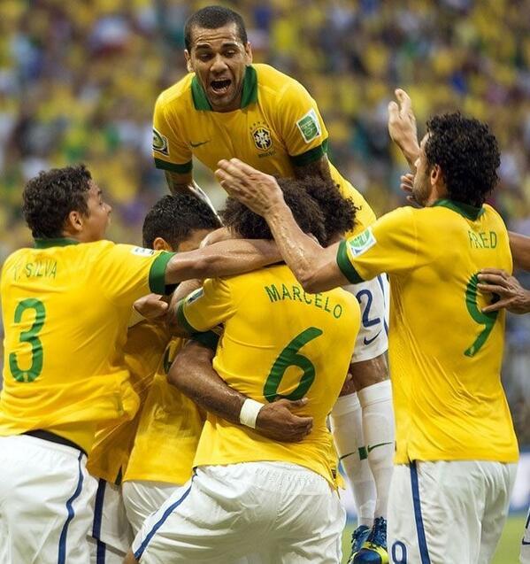 Alessandra Ambrosio  - Who's ready twitter @AngelAlessandra soccer,confederationscup2013brazil,brazil