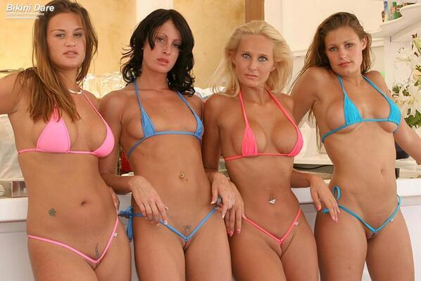 Skimpy bikini babes at caribbean pics — img 12