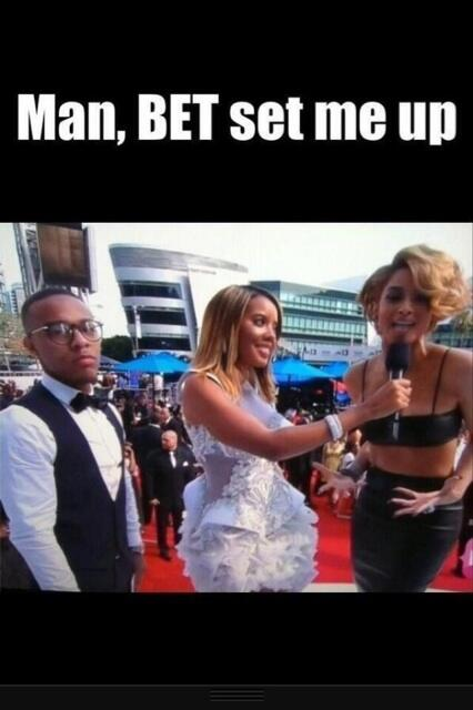 Look at Bow Wow's face tho