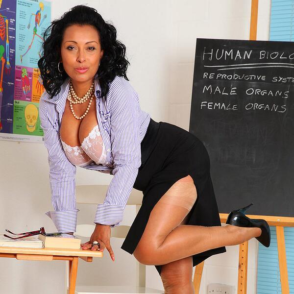 Kinky milf secretary