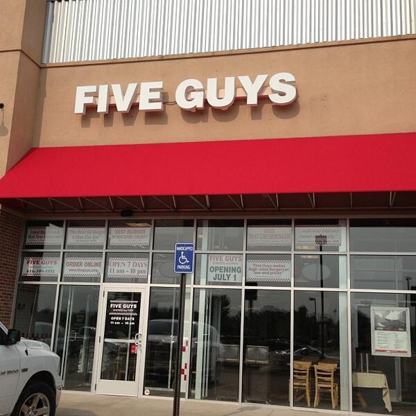 Five guys holland mi