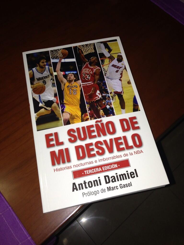 """Ignasi Iturralde on Twitter: """"Con muchas ganas de empezar a leer 'El sueño  de mi desvelo' del gran @ADaimiel http://t.co/RemQTuQlyg"""""""