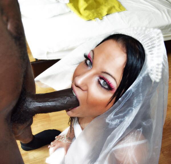 Simply interracial bride fuck