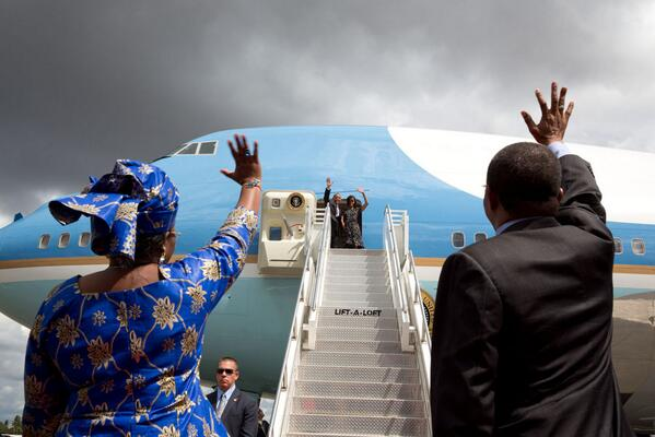 Thumbnail for Administrator Shah Travels with President Obama in Africa