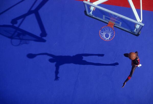 michael jordan shadow