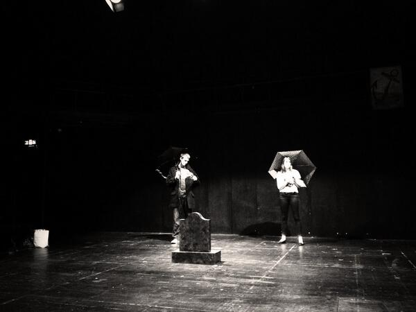 2nd tech is in process for #NTCFest  @losttheatre are plotting along nicely.,, pic.twitter.com/fMkplWzNwu