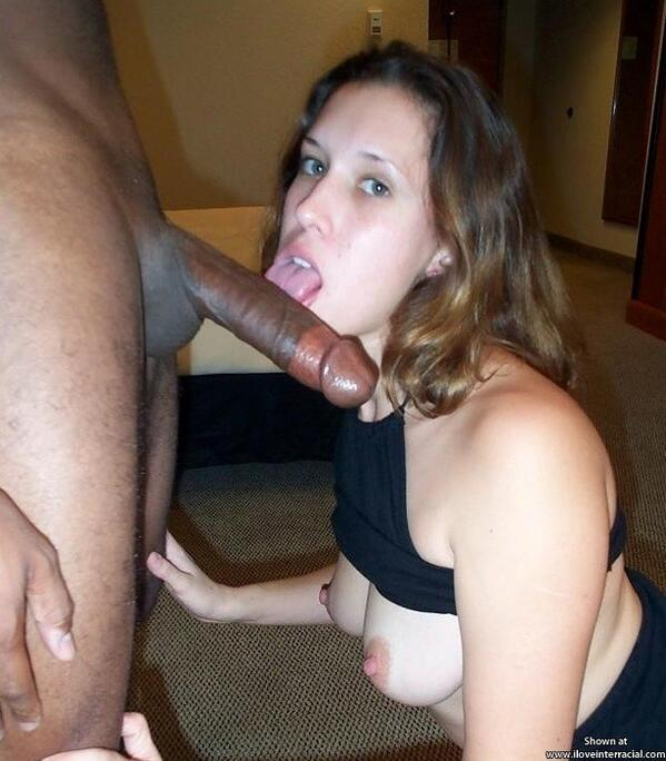 First huge cock for a horny amateur babe