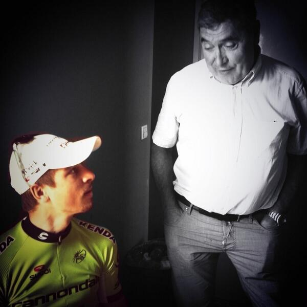 Today after the TT i had occasion spoke with my big cycling idol Eddy #Merckx pic.twitter.com/MLPP4d7PWn