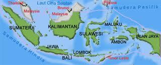 Photo Peta Kota Indonesia