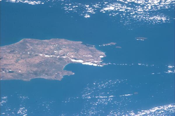 Arrivando dall'Africa, il Golfo di #Palermo e le #Egadi | The Gulf of Palermo and the Egadi #Volare pic.twitter.com/0xQdG6pcwt