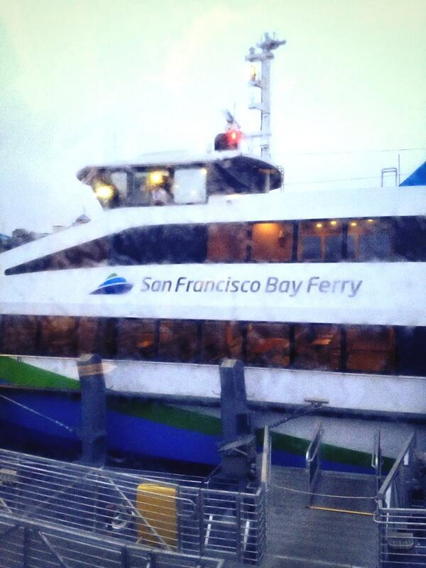 Finally on the ferry! This whole #bartstrike needs to end already. #BARTageddon #BayArea pic.twitter.com/Reyxm9SPJe