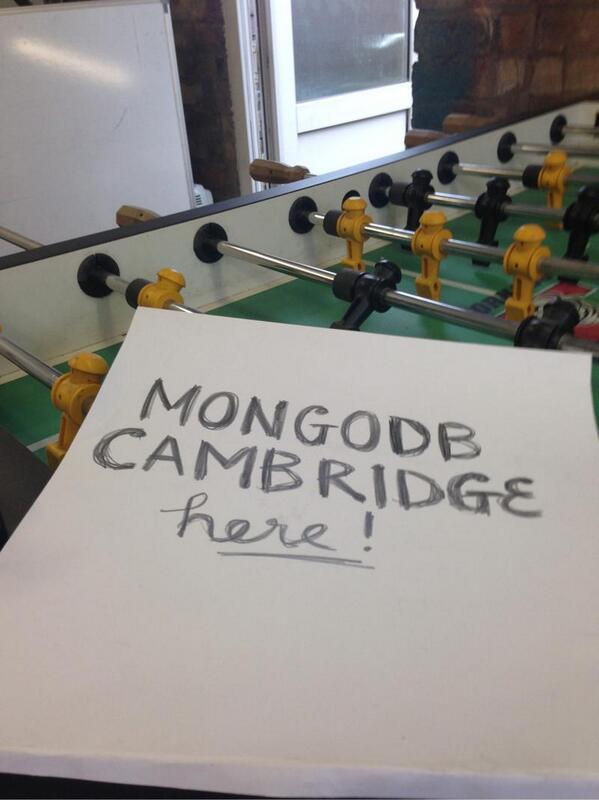 Mongodb development in Cambridge