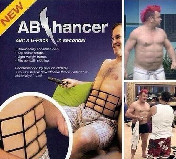 Image result for Ab-hancer Instant 6 Pack Abs