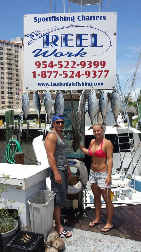 Florida fishing guides fishing reports saltwater boat for Ft lauderdale fishing charters
