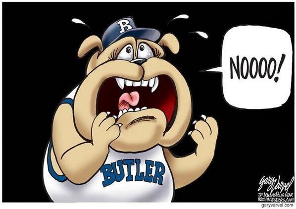 Star cartoonist @varvel on Butler coach Brad Stevens leaving for the Boston Celtics: indy.st/14rxn0s pic.twitter.com/VrlV9Fpka7