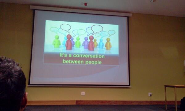 "#schoolnetsa Arthur Preston - ""using social media opens up a world to you"" pic.twitter.com/Gb6XdchhOC"