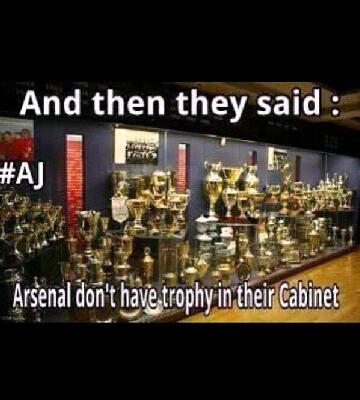 GoonsterTM On Twitter Who Says We Have An Empty Dusty Trophy Cabinet AFC Tco CH6bbVBELE
