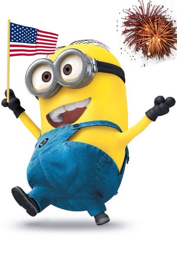 4th of july minions wallpaper - photo #10