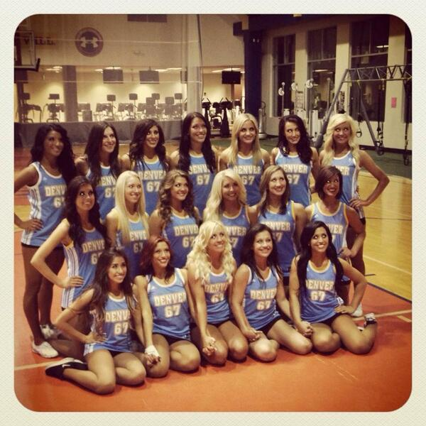 Denver Nuggets Dancers: Nuggets Dancers