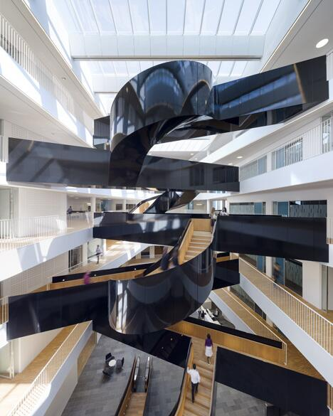 Awesome Thecoolhunter On Twitter Spaceship Stairs In The New Home Interior And Landscaping Ponolsignezvosmurscom