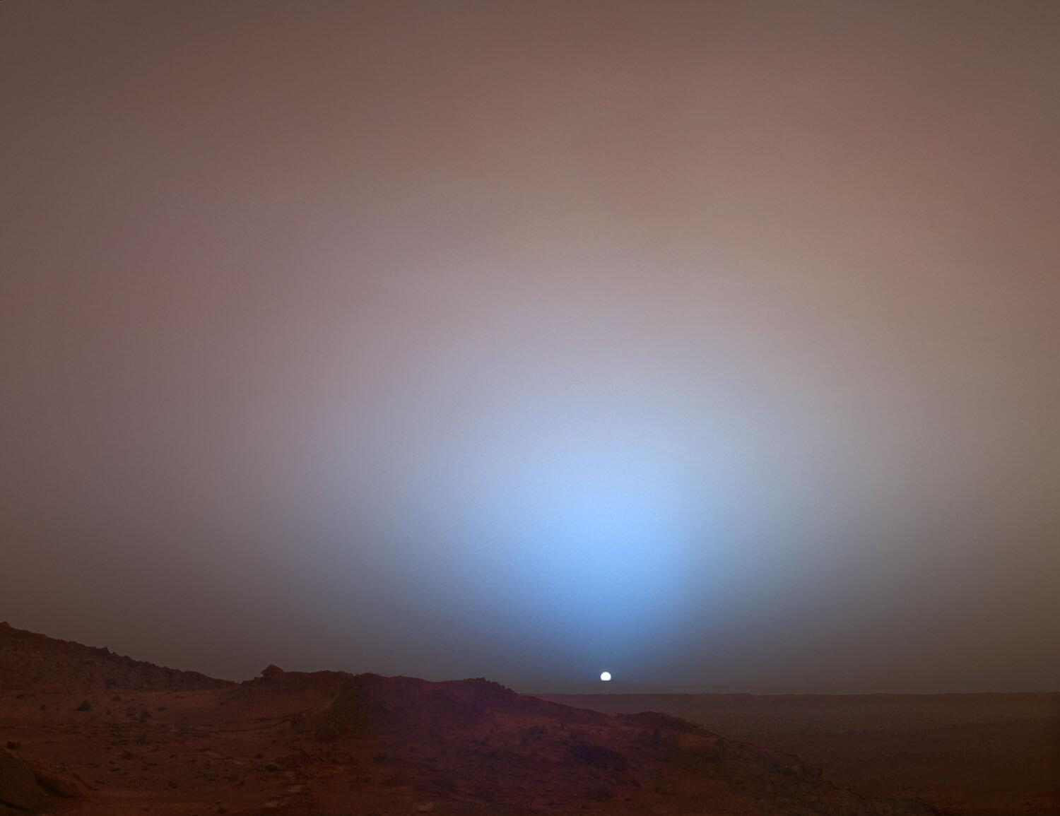 """UberFacts on Twitter: """"Sunsets on Mars are blue. http://t ..."""