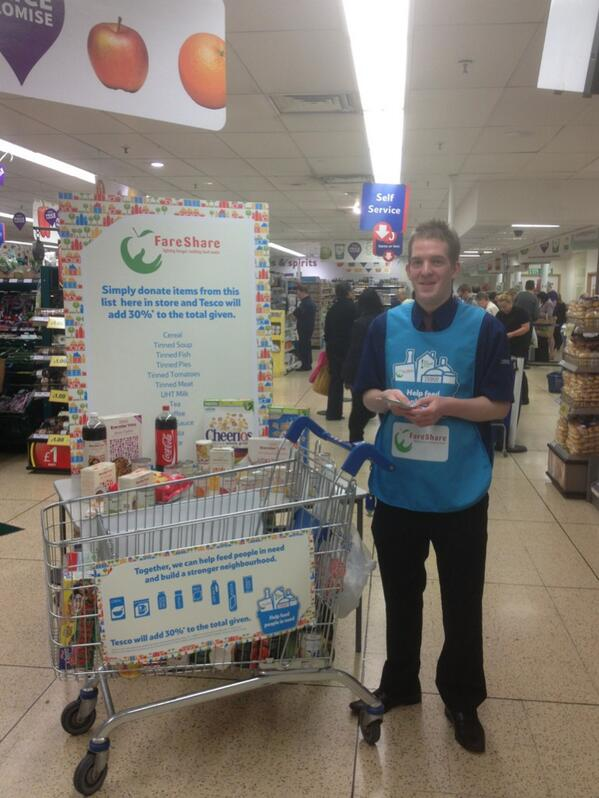 Tesco Wolverhampton On Twitter Wolves Food Bank With Adam