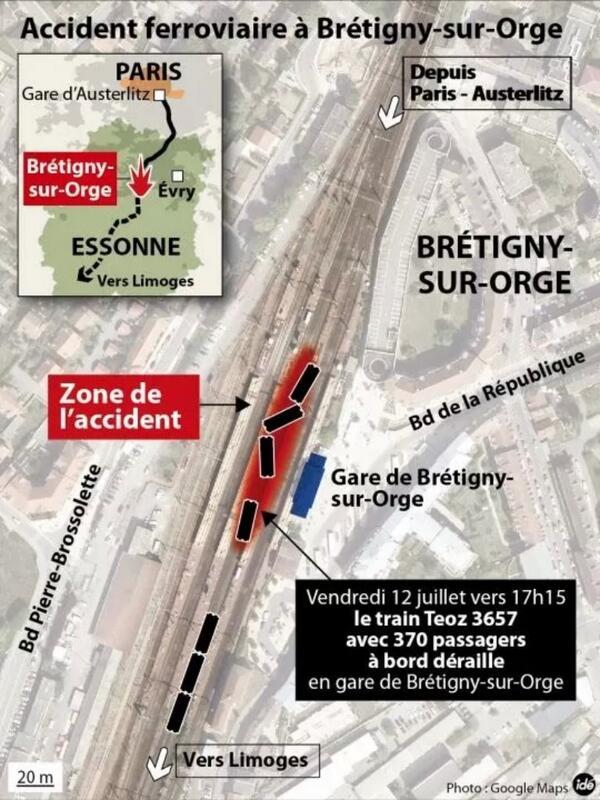 Accident ferroviaire à #Brétigny : le récap' en une image : quand, où, qui, quoi ? #RERC #Intercités http://pic.twitter.com/jf2V2Zgmv2