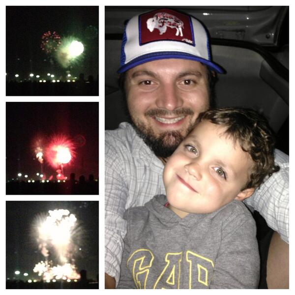 the boys went to see some fireworks. pic.twitter.com/t5et0SIwAK