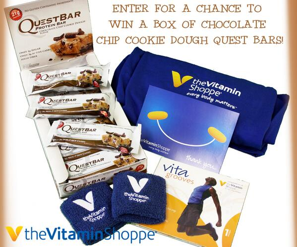 The Vitamin Shoppe On Twitter Contest Rt Enter For A Chance To