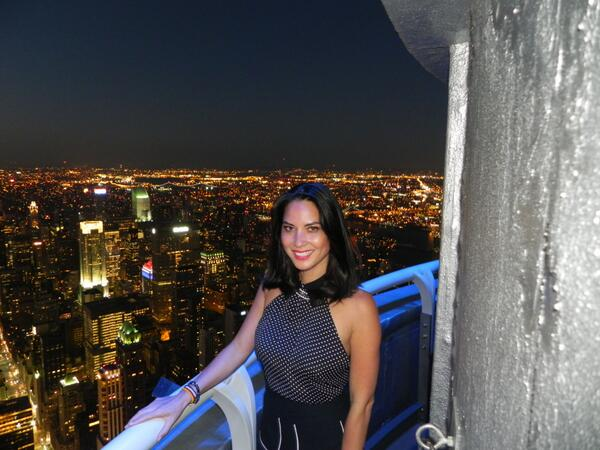 Empire state bldg on twitter oliviamunn watched the for 103rd floor empire state building