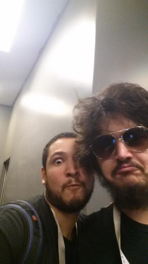 Sp00n's face revealed at RTX! (from Galm's twitter ... Uberhaxornova Face